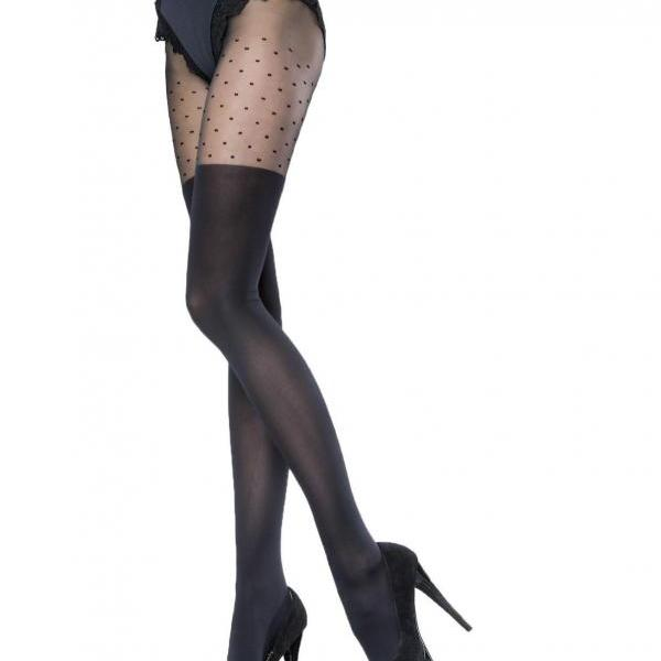 Ladies Patterned Tights 20-40 DEN Sexy Hosiery Black S - XL SIZE 2 3 4 5XL high quality !!!